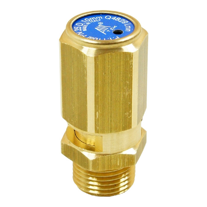 Push To Connect Fittings >> Air Safety Valve 3/8″ 11 bar | E-Pneumatic Store