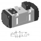 Pneumatic ISO-2 Valve SIP511 by YPC (5/2 single)