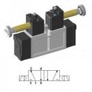 Solenoid valve 5/2 double ISO-0