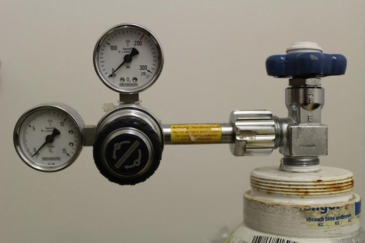 válvula controladora de vazão