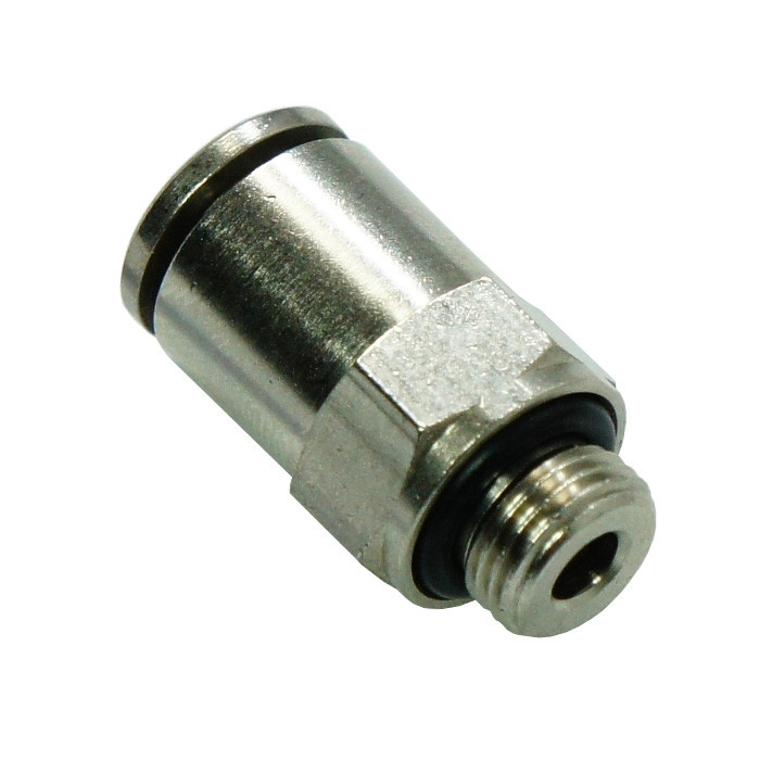 Push-in straight fitting 6mm - 1/8""