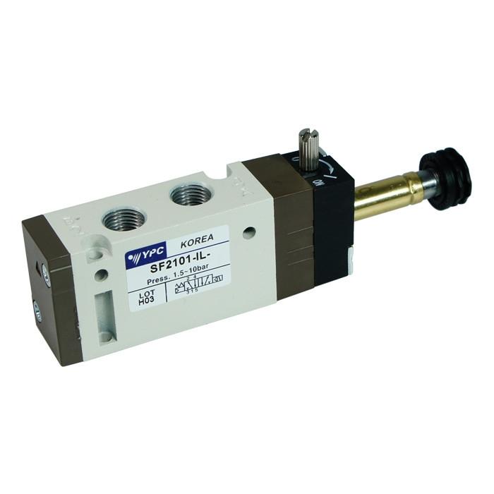 "Solenoid valve 5/2 monostable - 1/8"""