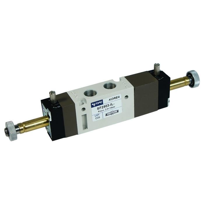 """Solenoid valve 5/3 pressure center 1/8"""""""