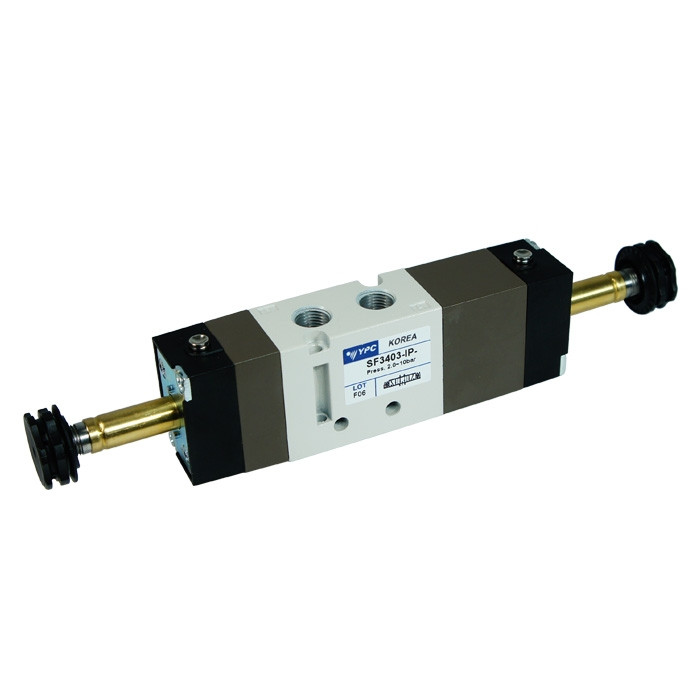Solenoid valve 5/3 open center - 1/8""