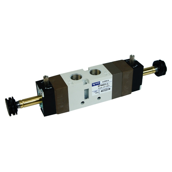 Solenoid valve 5/3 open center 1/4""