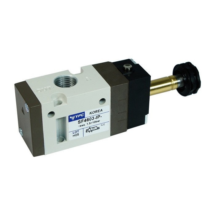 Solenoid valve 3/2 normally closed - 1/4""
