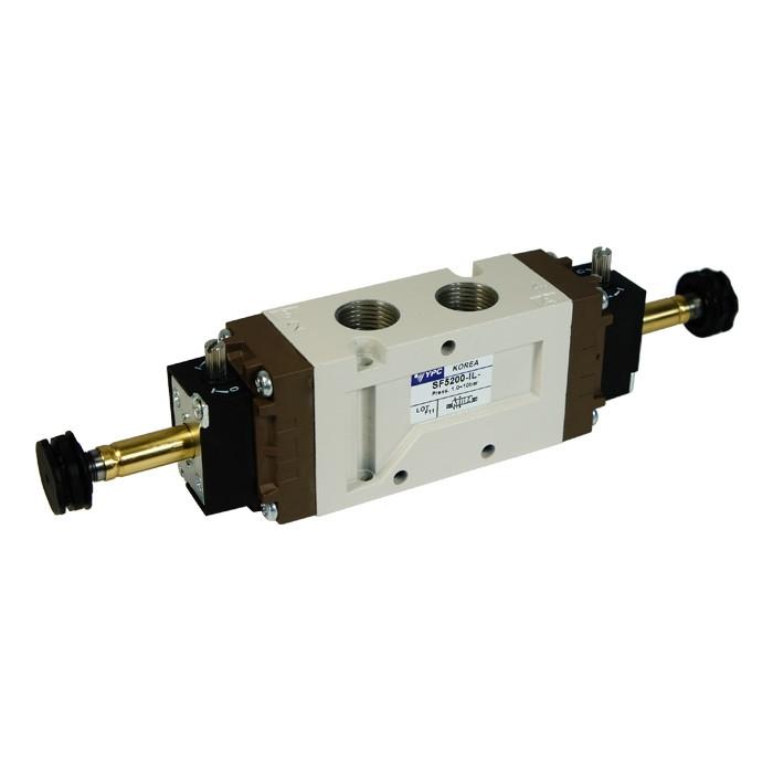 """Solenoid valve 5/2 double - 3/8"""""""