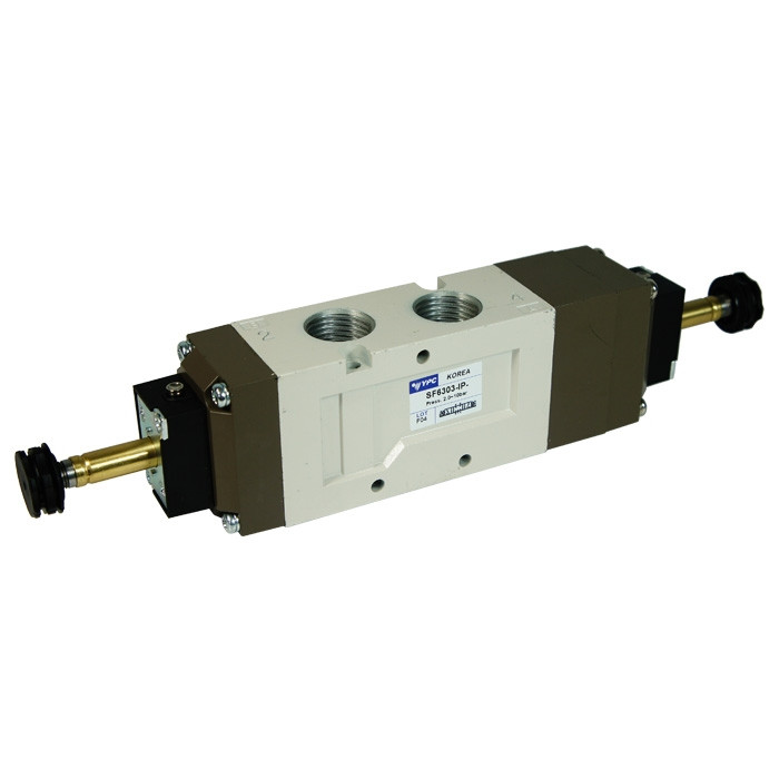 Flexible solenoid valve SF6303-IP 5/3 closed center