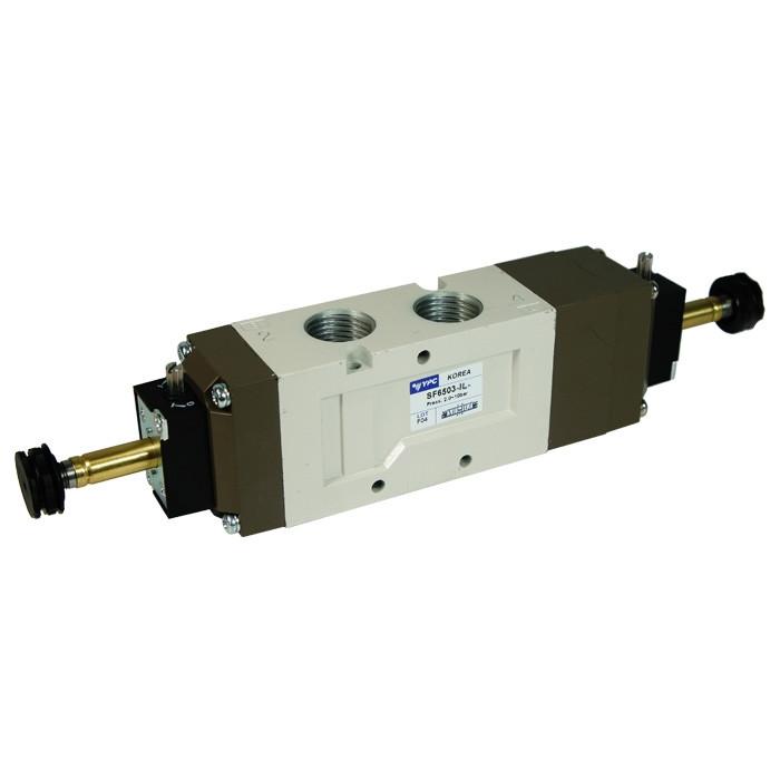 Solenoid valve SF6503-IL, 5/3 pressure center
