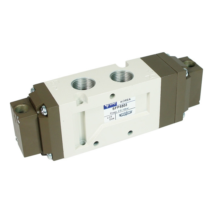 Universal Pneumatic Valve SFP5503, 5/3 Pressure Center