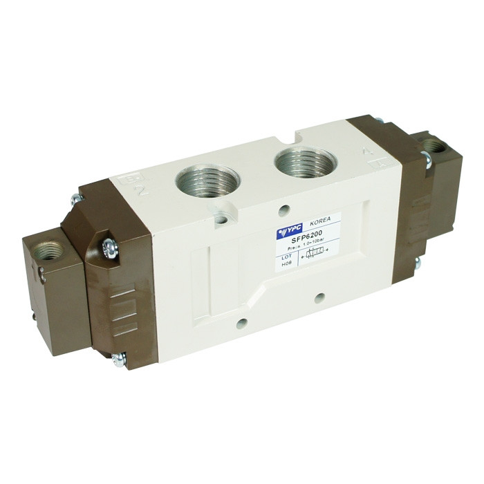 SFP6200 - flexible pneumatic valve with 5/2 double function