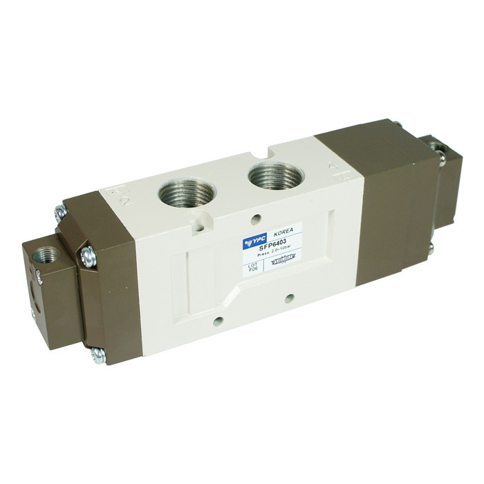 YPC Pneumatic Valve SFP6403 - 5/3 Open Center