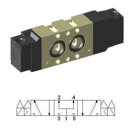 Pneumatic Namur Interface Valve SNP3503