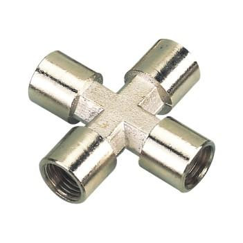 "Cross fitting 1/4"" female"