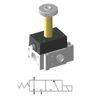 Micro Solenoid Valve YSV-311-DP
