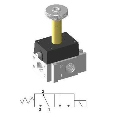 Micro Solenoid Valve YSV-321-DP