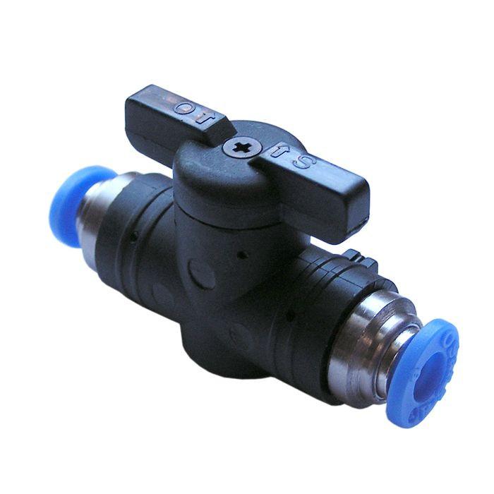 Push-in Shut-off valve 8mm