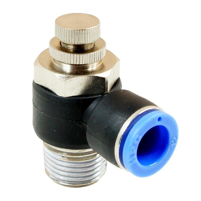 "Flow control valve 8mm 3/8"""