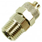 Push-on Fitting, Straight Type, Hose 6mm, G 1/4 Port Size