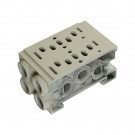 Double manifold block for valves SIV200