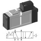 Pneumatic Valve SIP211 - ISO-0, 5/2 Single
