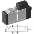 Pneumatic 5/2 ISO Valve - SIP311 - by YPC