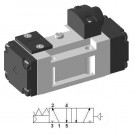 Pneumatic Valve with 5/2 Single Function - SIP411