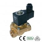 """Shut-off valve NC 1/4"""" 230V"""
